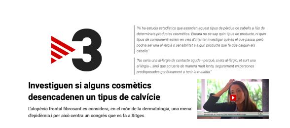 TV3 - alopecia